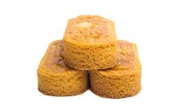 canoës de beurre d'isolement photo libre de droits