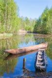 Canoës de Dougout photo stock