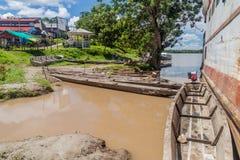 Canoës de pirogue photo libre de droits