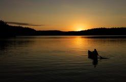 Canoa Fotografia de Stock Royalty Free