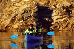 Canoa Fotografia Stock