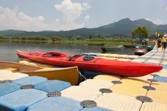 Canoa Immagine Stock