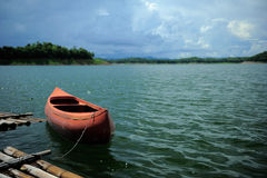 Canoa. Fotos de archivo libres de regalías