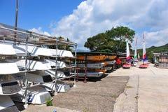 Canoa Foto de archivo libre de regalías