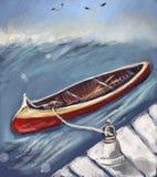 Canoa Fotos de archivo libres de regalías