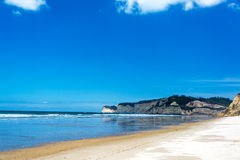 Canoa Beach View Royalty Free Stock Photo