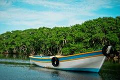 Canoa de Fisher´s Imagens de Stock Royalty Free
