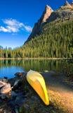 Canoa de Hara do `do lago O Imagens de Stock Royalty Free