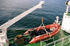 Canoa de salvação Fotografia de Stock Royalty Free