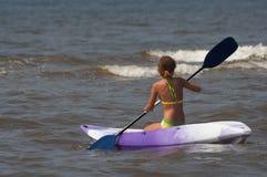 Canoa del mare Fotografie Stock Libere da Diritti