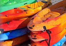 Canoa del mare Immagini Stock