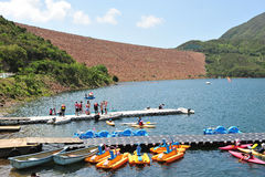 Canoa del rowing Imagen de archivo