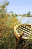 Canoa di estate Fotografia Stock