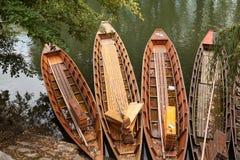 Canoa di legno Immagine Stock Libera da Diritti