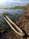 Canoa di riparo Fotografia Stock Libera da Diritti