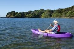Canoa e caiaque Foto de Stock