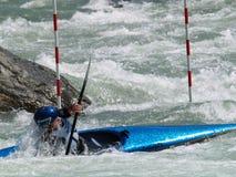 Canoa e caiaque Fotografia de Stock