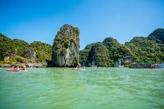 Canoa a Koh Hong Island Fotografia Stock