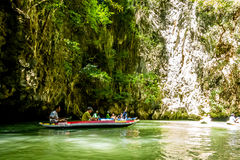 Canoa a Koh Hong Island Fotografie Stock