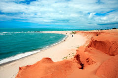 Canoa quebrada Royalty Free Stock Images