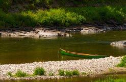 Canoa verde dello squareback Immagini Stock Libere da Diritti
