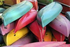 Canoas Imagenes de archivo