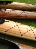 Canoas foto de stock