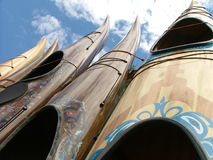 Canoas imagen de archivo libre de regalías