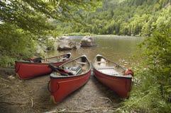 Canoas Foto de archivo