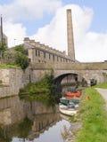 Canoas na celebração de 200 anos do canal de Leeds Liverpool em Burnley Lancashire Fotografia de Stock