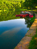 Canoas na doca 4 Imagem de Stock Royalty Free