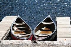 Canoe Fotografia Stock Libera da Diritti