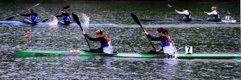 Canoe-6 Photo libre de droits