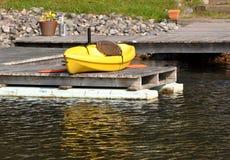 Canoe boat Stock Photo