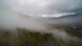Canoe, British Columbia - Misty Mt. Ida royalty free stock images
