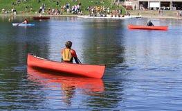 Canoe Club Stock Image