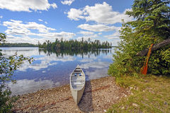 Canoe in for the Day Royalty Free Stock Photos