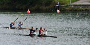 Canoe female Marathon Royalty Free Stock Images
