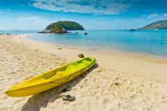 Canoe Kayak on the beach, Phuket Thailand Royalty Free Stock Photo