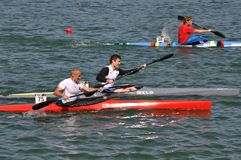 Canoe and kayak french championships Stock Images