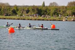Canoe and kayak french championships Stock Image