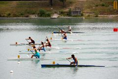 Canoe and Kayak Italian Championships royalty free stock images