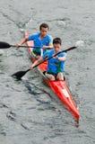 Canoe male Marathon Royalty Free Stock Image