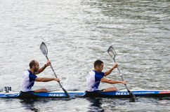 Canoe Marathon Royalty Free Stock Photo