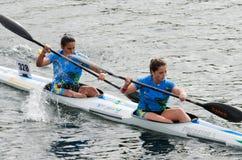 Canoe Marathon Stock Images