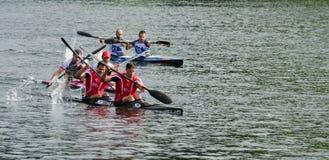 Canoe Marathon Stock Photos