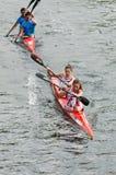 Canoe Marathon Stock Image