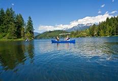 Canoe onwards Royalty Free Stock Images