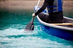 Free Canoe Paddle Detail Royalty Free Stock Photography - 15836027