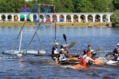 Canoe polo Royalty Free Stock Photography